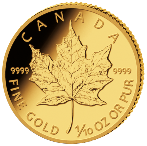 1/10 Gold Oz Maple Leaf