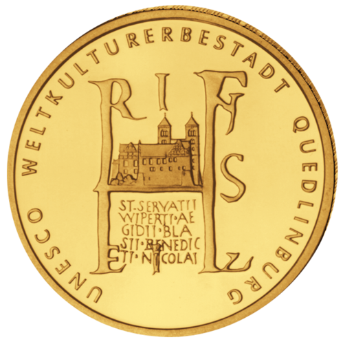 1/2 Oz 100 € Quedlinburg