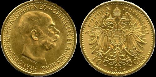 10 Kronen Gold österreich Ungarn Beutler Münzen Und Edelmetalle