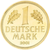 1 Deutsche Mark in Gold