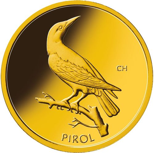 "1/8 Oz Gold, 20 Euro ""Pirol"" 2017"