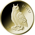 "1/8 Oz Gold, 20 Euro ""Uhu"" 2018"