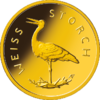 "1/8 Oz Gold, 20 Euro ""Weissstorch"" 2020"